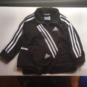 Infant 2 piece adidas track suit